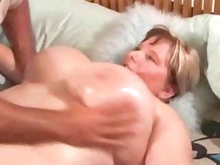 Squeezing Massive Oily Titties
