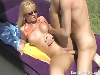 breasty golden-haired hotty maya acquires