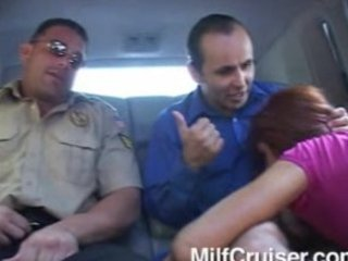 redhead milf fucked in by crusiers