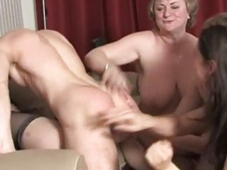 Mature ladies having fun and awsome group fucking