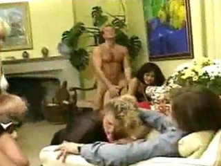 Tasty hardcore milf group sex delights
