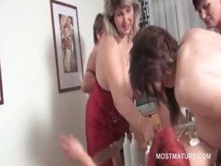 fuckfest lesbian matures lick twat and fuck