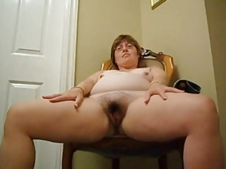 big beautiful woman older shows her body