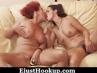 hot matures and favourable boy