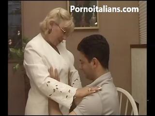 italian granny oral hawt - matura italiana