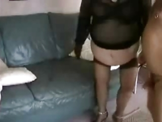 non-professional big beautiful woman granny