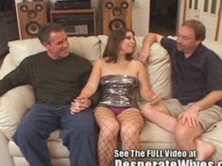 dana fulfills her wench wife mfm three way dream