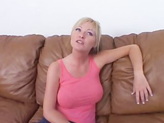 golden-haired d like to fuck acquires pumped on