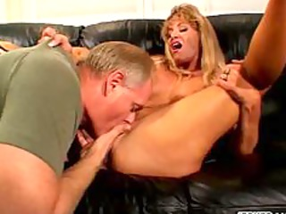 breasty wife cheats in front of husband