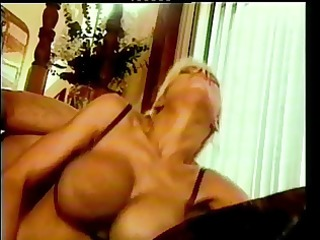 glamorous blonde nurse fuck and facial