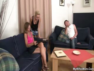 she is sees her guy fucking mother in law