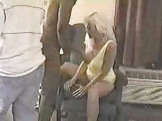 blond white wife with darksome paramours -