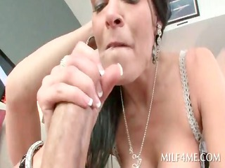 mom in hot lingerie blows and rides legal age