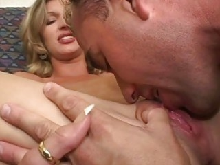 mother i gets her hairless cunt licked