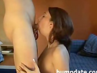 pleasing mother i deepthroats dick and gets