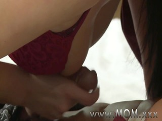 mamma cougar wife bonks her paramour