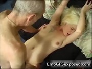 old papy fucking juvenile tattooed wife
