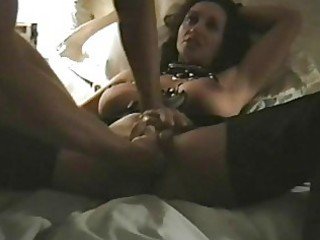 kinky darksome haired mother i with big boobs