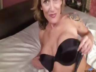 busty blonde mother i acquires naked and rubs and