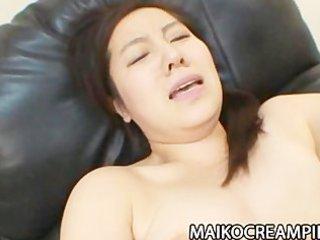 older japanese mikako imada getting her cum-hole