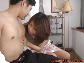 slutty japanese older honeys engulfing part8