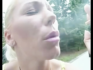 smokin fetish d like to fuck golden-haired