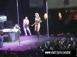 scandalous footage public porn event