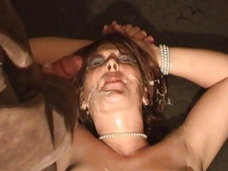 Amateur wife bizarre bukkake fetish
