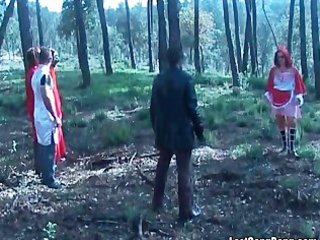 mature wench enjoys in group sex
