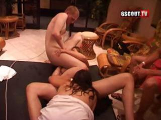 Mature housewives get pounded by horny husbands