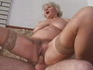 one more one of granny norma fucking in nylons