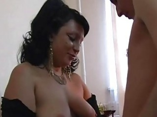 large love bubbles chubby mature brunette...