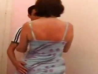 Russian mom and son  family seductions 10