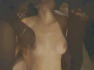 Cuckold wife gangbanged  in front of husband part