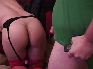 cum on my wife hot ass