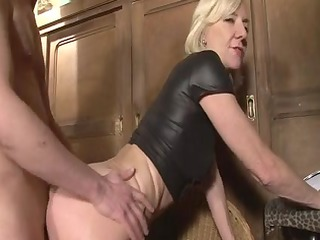 golden-haired aged charlie drilled right into an