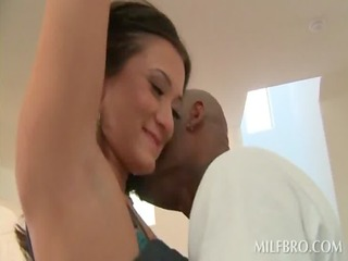 lucky housewife gets her lusty slit darksome
