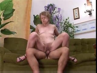 old slender granny fucks with juvenile