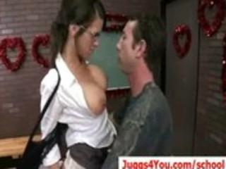 00-big boob milf teacher having wild hardcore sex