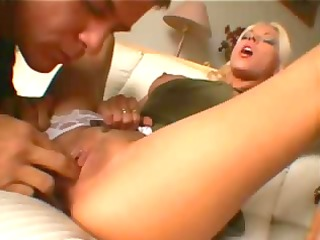 nikki blond arse drilled and jizzed