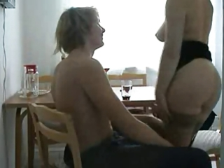 lewd cheating wife fucking her juvenile paramour