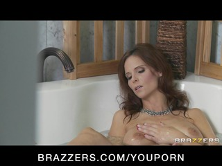 Horny big tit Milf mom is craving her sons friend