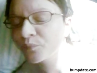 horny non-professional wife acquires facialized