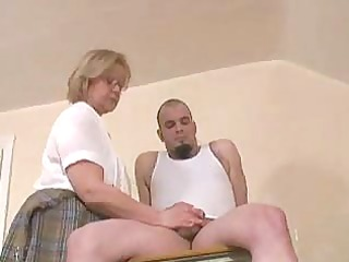 old teacher s handjob...f117