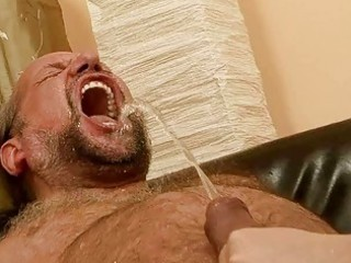 granddad fucking and pissing on wicked redhead