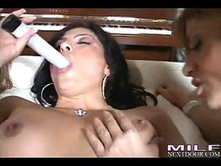 sexy milfs kayla paige and allies enjoys a wild