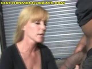 sexy mama trades some interracial sex