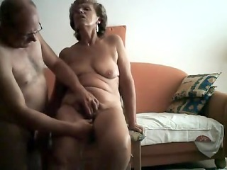 sexually lascivious granny gets her bawdy cleft