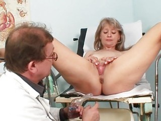 sexy blond milf gets her snatch abused in the