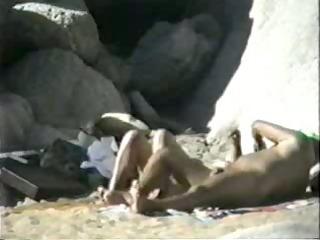 Amateur video - nudist beach